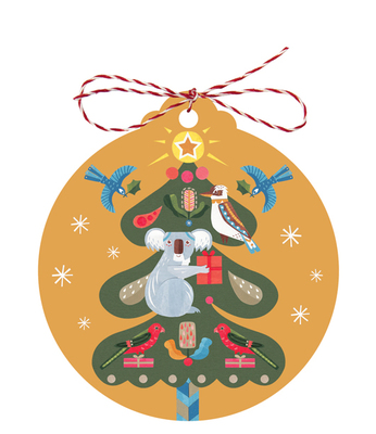 Christmas Gift Tags - Tree Of Light (Pack of 8)