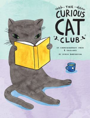 The Curious Cat Club Correspondence Cards