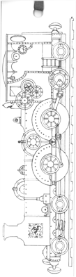 Steam Train (Colour-Yourself-Bookmark)