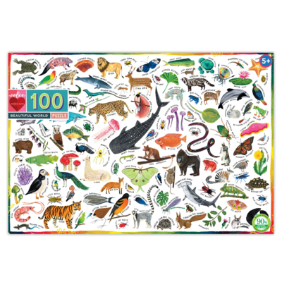 Beautiful World: 100-Piece Jigsaw Puzzle (EB-PZBUW)