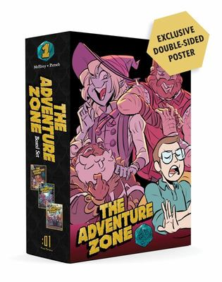 The Adventure Zone Boxed Set - Here There Be Gerblins, Murder on the Rockport Limited! and Petals to the Metal