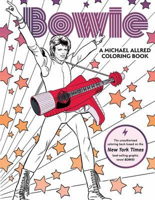 BOWIE-A Michael Allred Coloring Book