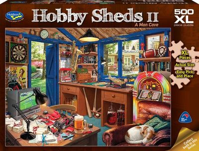 The Hobby Shed 500pc