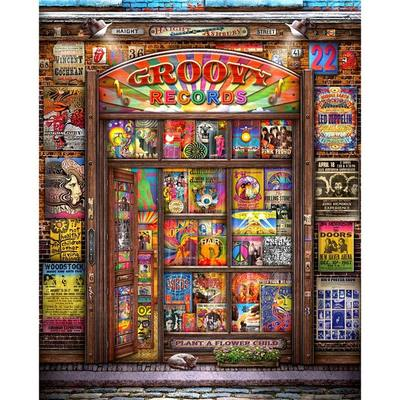 Groovy Records - 1000 Piece Jigsaw Puzzle