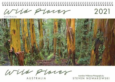 Wild Places of Australia 2021 Desk Calendar