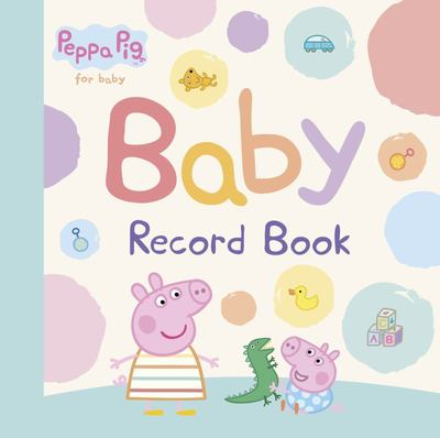 Peppa Pig Baby Record Book