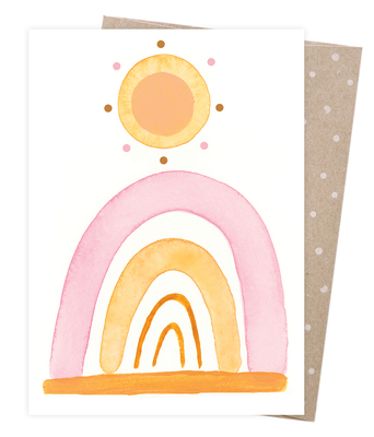 Blank Greeting Card - Wild and Free