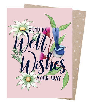 Well Wishes Wren Card