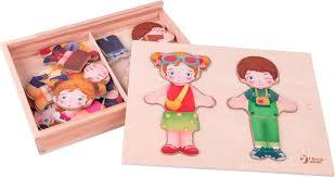 Dress-up Puzzle (wooden, age 3+)