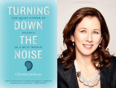 Turning Down the Noise - Christine Jackman in conversation