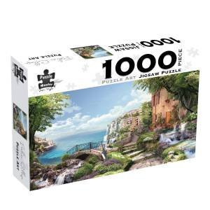 Italian Collage: 1000-piece Jigsaw Puzzle - Puzzle Art