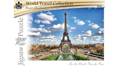 Eiffel Tower, Paris: 1000 Piece Jigsaw Puzzle - World Travel Collection / Puzzle Master