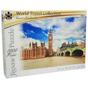 Big Ben, London: 1000 Piece Jigsaw Puzzle - World Travel Collection / Puzzle Master