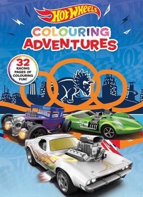 Hot Wheels: Colouring Adventures (Mattel)
