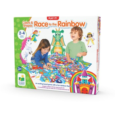 Race to the Rainbow: Colours & Shapes