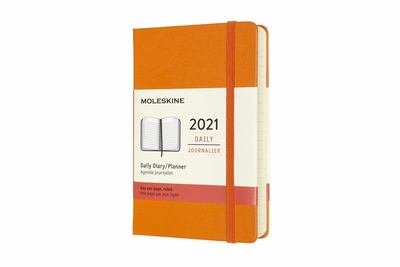 2021 Daily Orange Pocket Hardcover Diary Moleskine