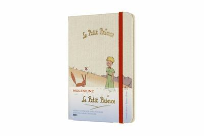 2021 Petit Prince Weekly Notebook Red Trim Pocket Hardcover Diary Moleskine