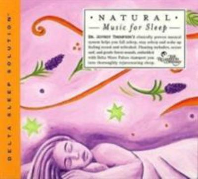 Natural Music for Sleep (CD) - Jeffrey Thompson