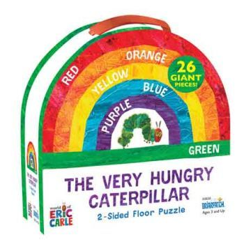 The Very Hungry Caterpillar 2-Sided Floor Puzzle (26pc)