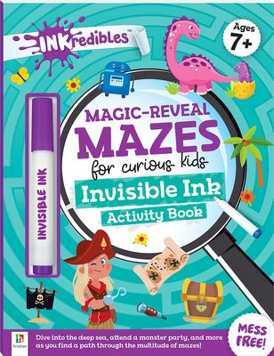 INKredibles Magic-Reveal Mazes Invisible Ink Acitivity Book