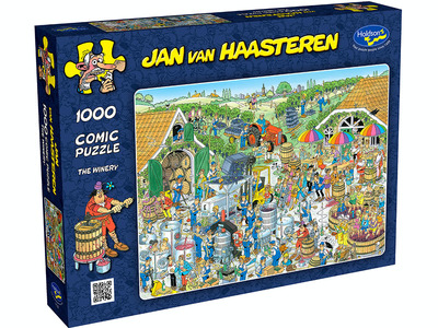 Holdson 1000pce The Winery - Jan van Haasteren Jigsaw Puzzle