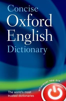 Concise Oxford English Dictionary (12th ed. HB)