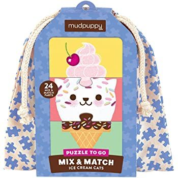 Mix & Match Ice Cream Cats Puzzle to Go
