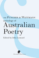 The Puncher and Wattmann Anthology of Australian Poetry