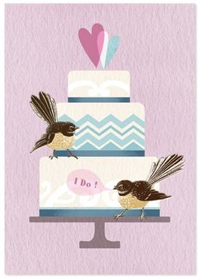 Card - I Do! - Fantail NZTW34