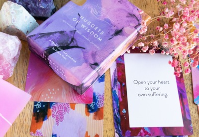 Nuggets of Wisdom: Affirmation Cards