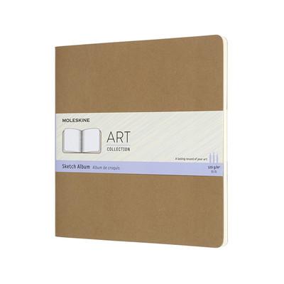 Art Sketch Album Square Kraft