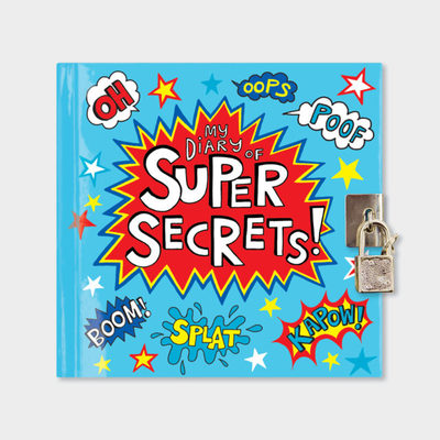 My Diary of Super Secrets: Lockable Diary