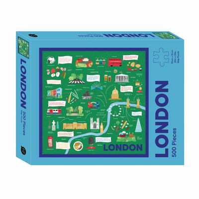 London Map 500 Piece Jigsaw Puzzle