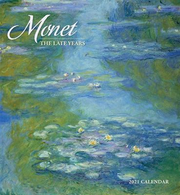 Monet: the Late Years Wall Calendar 2021