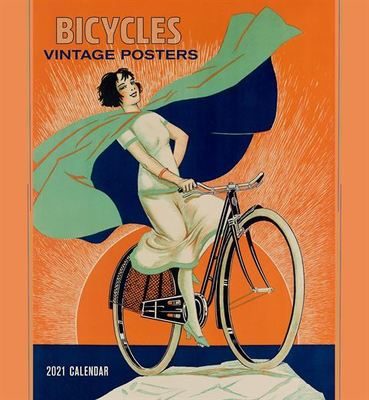 Wall Calendar - Bicycles Vintage Posters 2021