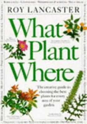 WHAT PLANT WHERE (HB)