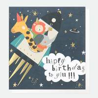 Homepage card   happy birthday to you spaceship