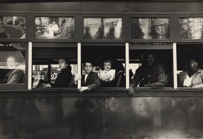 Robert Frank: Trolley-New Orleans - MoMA One on One Series
