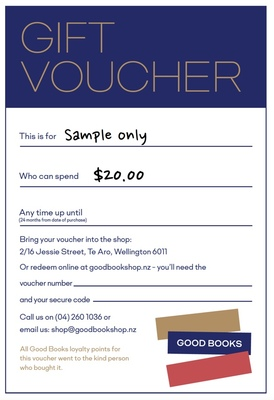 GOOD BOOKS Gift Voucher $20.00