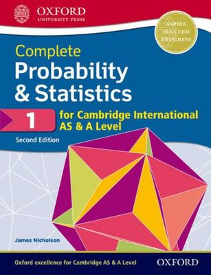 Complete Probability and Statistics 1 for Cambridge International AS and a Level