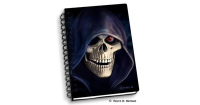Notebook Grim Reaper