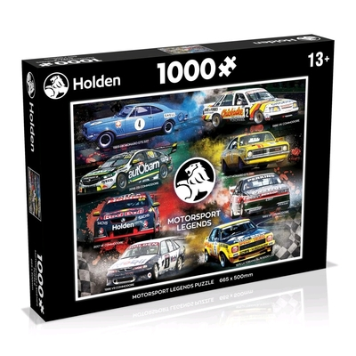 Holden - Motorsport Legends 1000 Piece Jigsaw Puzzle