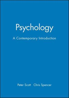Psychology - A Contemporary Introduction