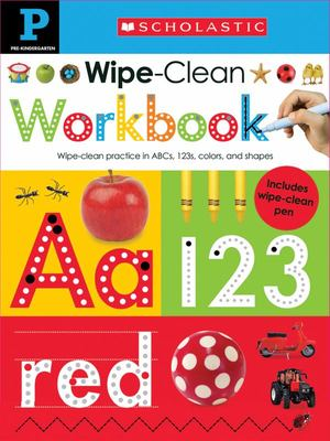 Pre-Kindergarten (Wipe-Clean Workbook)