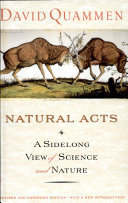 Natural Acts - Sidelong View of Sci