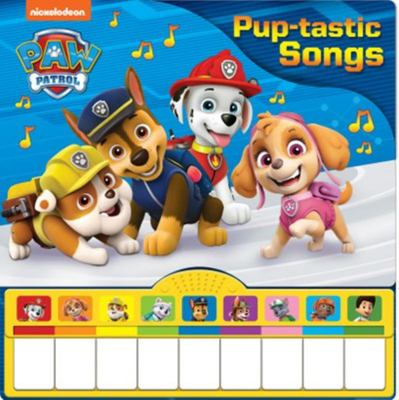 Paw Patrol Piano Board Book: Pup-Tastic Songs
