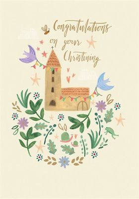 Card - Congratulations on your Christening GC2140