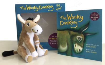 The Wonky Donkey Box Set with Toy