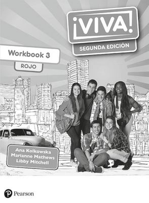 Viva 3 Segunda Ediciòn Workbook Rojo Pack Of 8