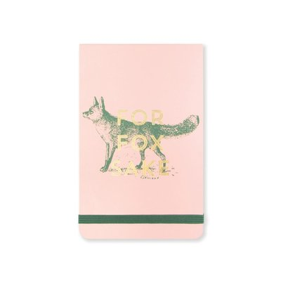 FOR FOX SAKE POCKET NOTEBOOK